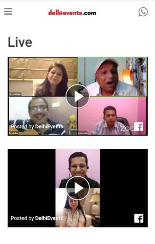 DelhiEvents live session capture