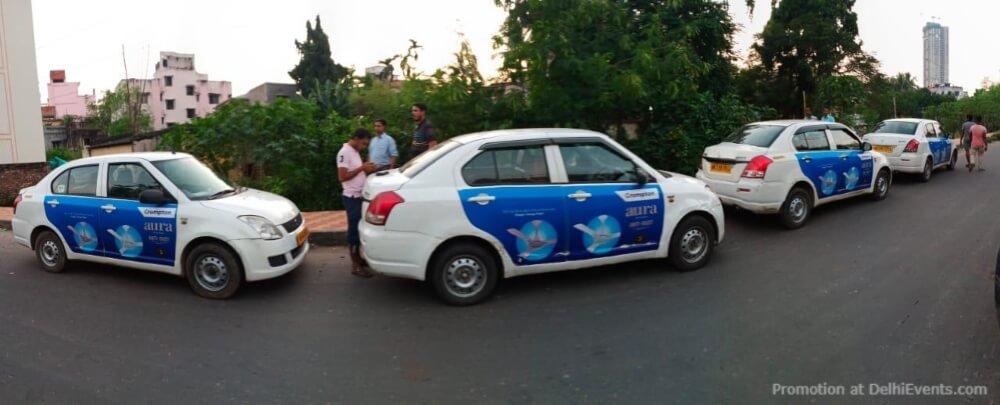 MyHoardings Ola Uber Cab Branding