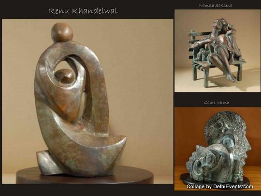Bronze Sculptures Namita Gauri Renu