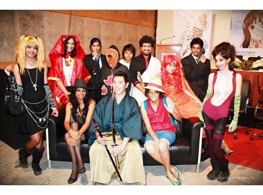 Cinedarbaar Presents 4th Anime Convention 2013 At Marwah Studio