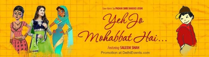 Yeh Jo Mohabbat Hai Play Poster