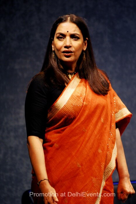 Shabana Azmi Girish Karnad Broken Images Play