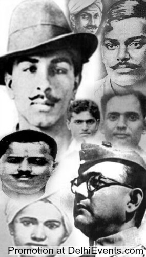 Freedom Fighters Collage