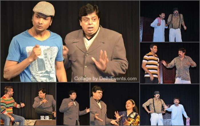 Bhavya Cultural Society Dusman urf Saiyan Magan Pehelwani Mein Hindi Comedy Play Stills