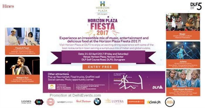 Horizon Plaza Festival 2017 DLF Two Horizon Center Creative