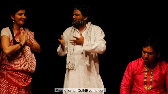 Qisso Ka Chaubaara Hindi Comedy Play Still