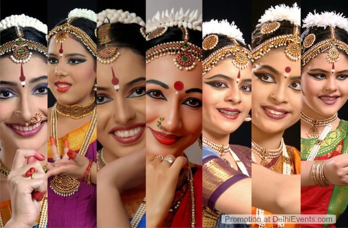Kalyani Kala Mandir Abhyuday Bharatnatyam Dancers Guru Smt. Rashmi Khanna disciples