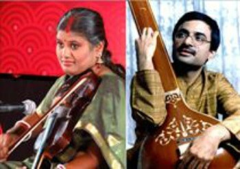 Musicians Paromita Mukherji Milind Chittal