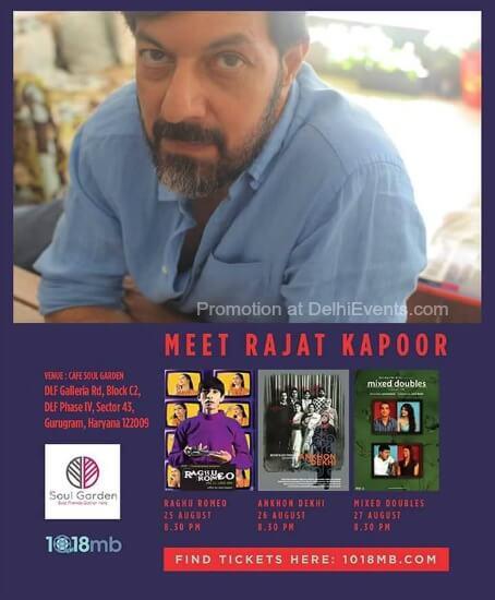 FILM screenings Rajat Kapoor Cafe Soul Garden Creative