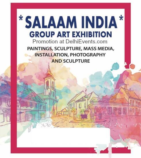 Salam India group art show Artizen Art Gallery Creative