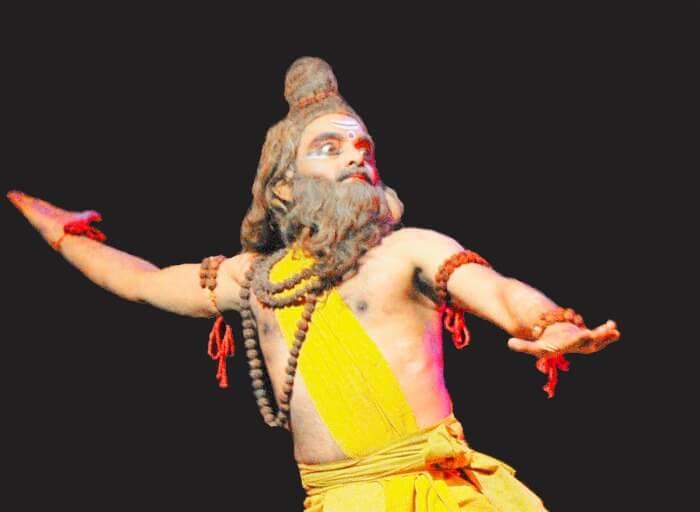Shashidharan Nair Parasurama Dance Drama Still