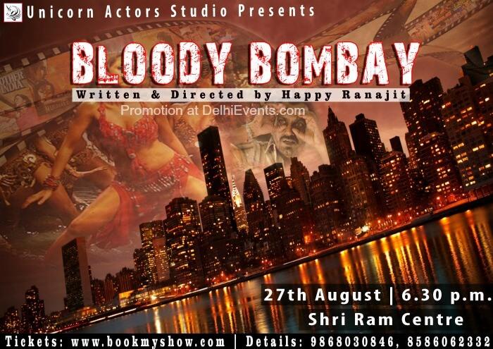 Unicorn Actors Studio Bloody Bombay Hinglish Comedy Play Poster
