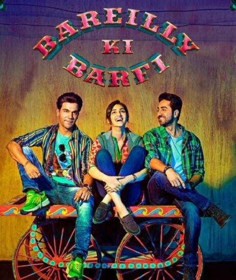 Bareilly Ki Barfi Hindi Comedy Film Poster