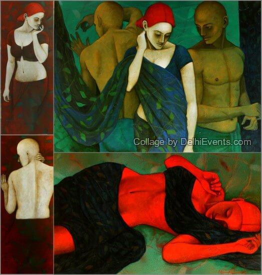 Paintings Asit Kumar Patnaik