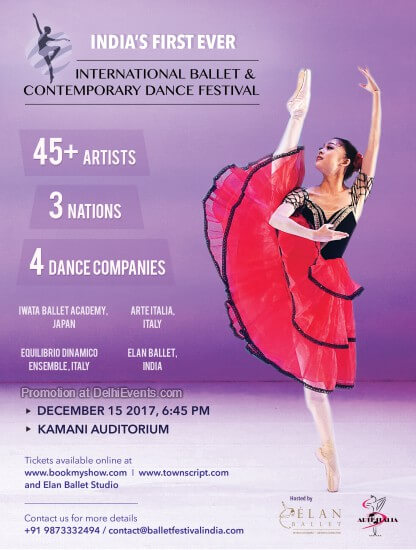 International Ballet Contemporary Dance Festival Kamani Creative