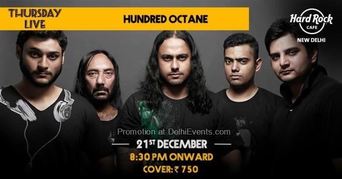 Hundred Octane band Hard Rock Cafe Creative