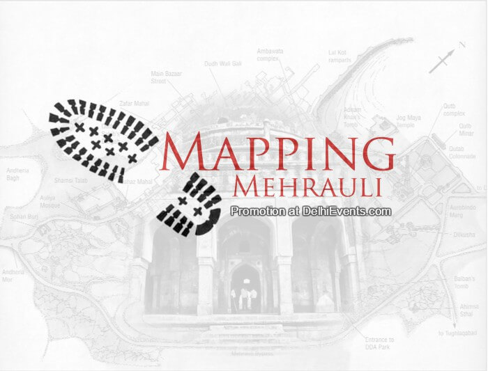 Mapping Mehrauli Beyond Delhi Walk Creative