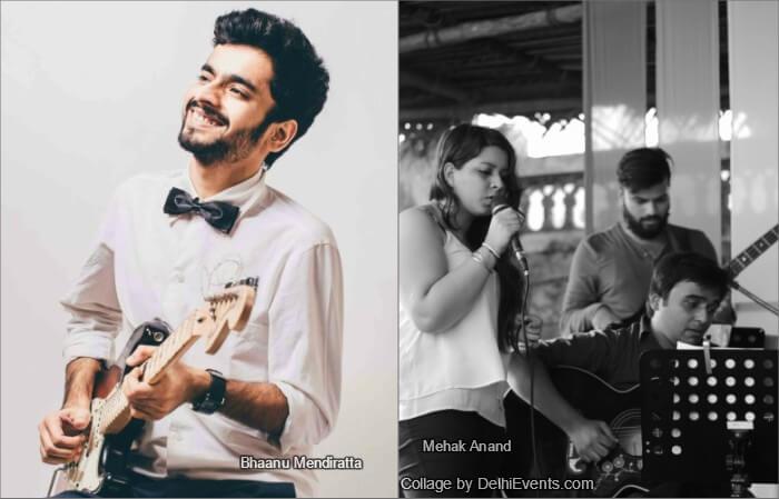 Musicians Bhaanu Mendiratta Mehak Anand