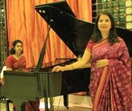 Nirupama Rao vocal Soundarie David Rodrigo piano Musicians
