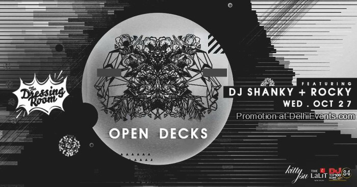 Open Decks Feat DJ Shanky Rocky Kitty Su Creative