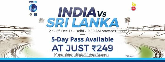 Paytm Test Series 3rd Test Match India Sri Lanka Creative