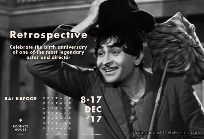 Raj Kapoor Retrospective Roseate House Creative