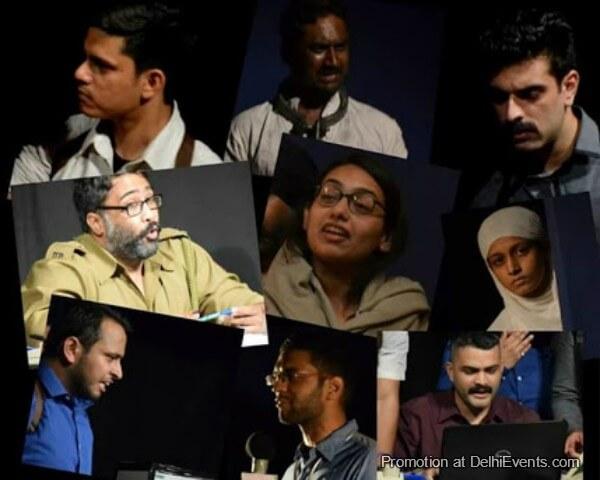 Sukhmanch Theatre Tafteesh Hindi Play Photos