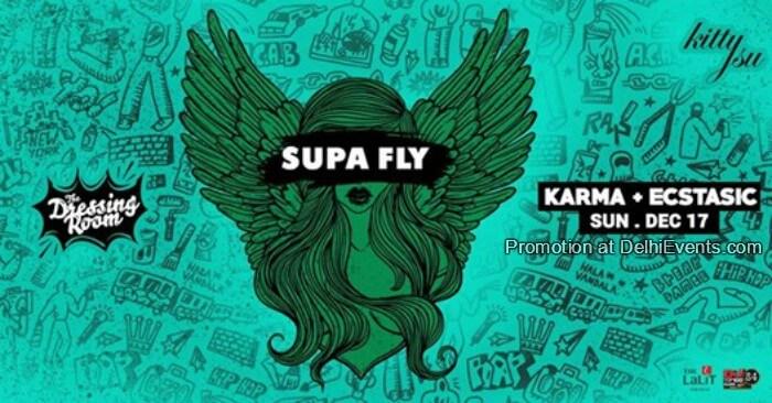 Supa Fly Sunday Hip Hop RNB Ft. DJ Karma Ecstasic Kitty Su Creative
