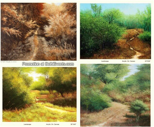 Paintings Vimal Chand