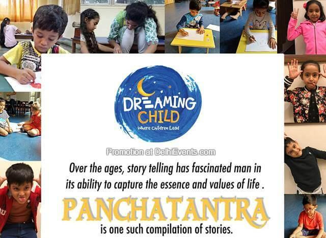 Dreaming Child Panchatantra Delhi Karnataka Sangha Creative