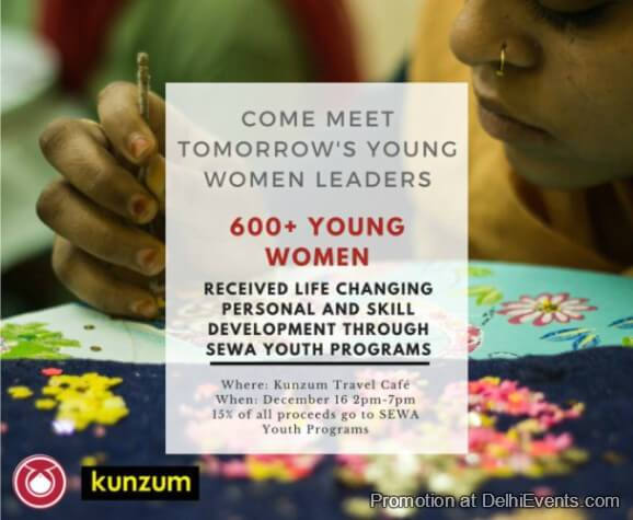 Masala Chai Chat Meet Tomorrow Young Women Leaders Kunzum Cafe Creative