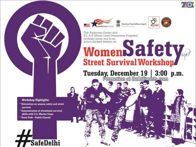 Women Safety Street Survival American Center Creative