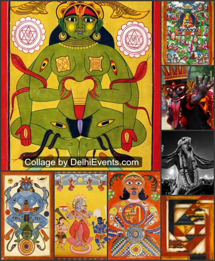 Tantra group show eminent artists Art Konsult Artworks