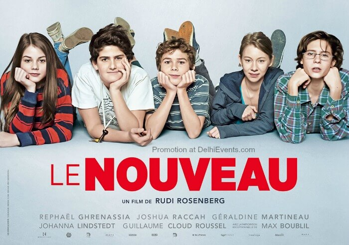 movie le nouveau french film screening with english subtitles at m l bhartia auditorium. Black Bedroom Furniture Sets. Home Design Ideas