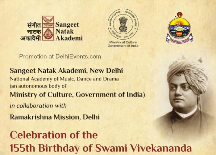 155th Birthday Swami Vivekananda Ramakrishna Mission Creative