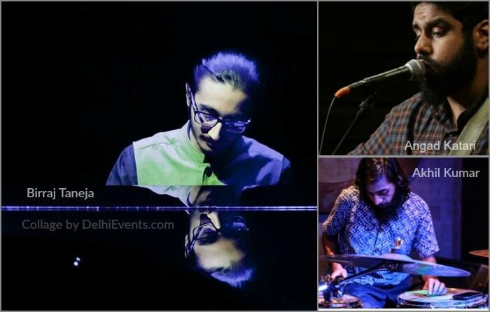 Musicians Birraj Taneja Angad Katari Akhil Kumar