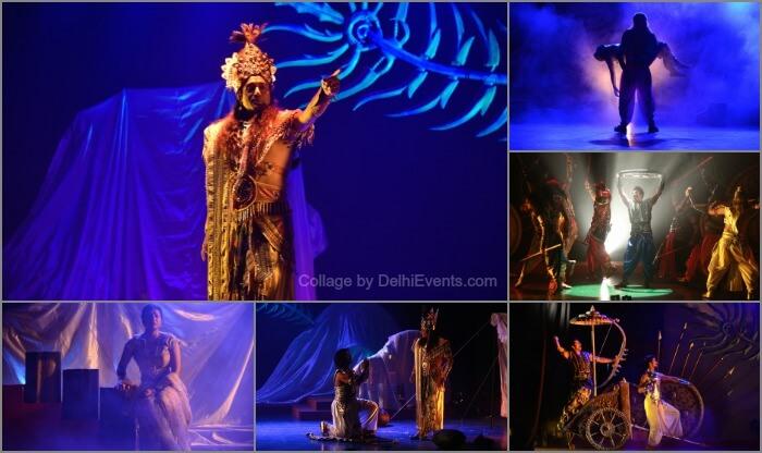Nitish Bharadwaj Krishna Atul Satya Koushik Chakravyooh hindi play