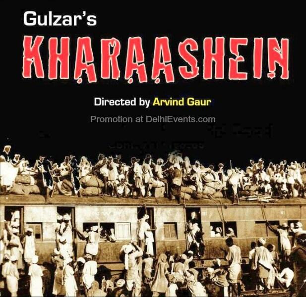 Asmita Theatre Group Gulzar Sahab Kharaashein Hindi Play Creative