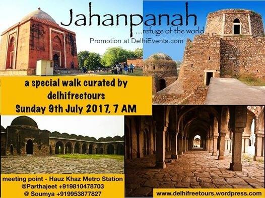 DelhiFreeTours Jahanpanah Refuge World Walk Creative