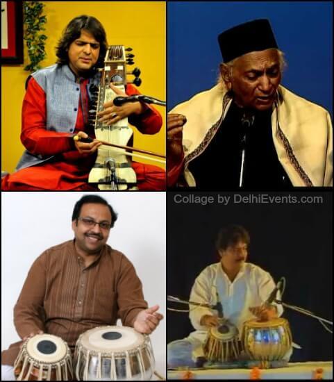 Kamal Sabri Pt. L.K.Pandit Partho Mukherjee Sukhamoy Banerjee Musicians
