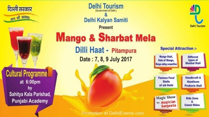 Mango Sharbat Festival Dilli Haat Pitampura Creative