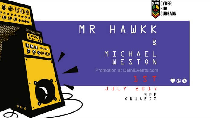 Mr. Hawkk Michael Weston Raasta Caribbean Lounge Creative