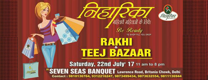 Niharika Rakhi Teej Bazaar Seven Seas Banquets Creative