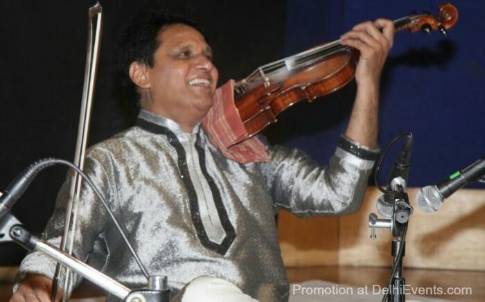 Violinist Asghar Husain