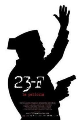 23-F Spanish Film Poster
