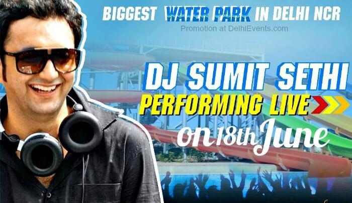 DJ Sumit Sethi live Appu Ghar Gurugram Creative