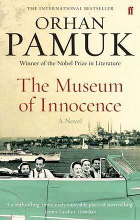 Museum Innocence Orhan Pamuk Book Cover