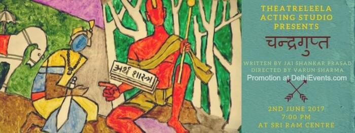 Theatreleela Acting Studio Chandragupta Hindi Historical Play Creative