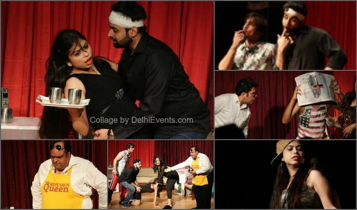 Behroopiya Entertainers Run Wife Hinglish Comedy play Stills