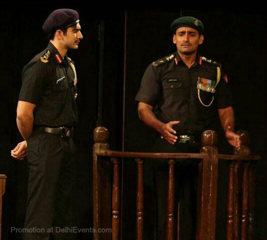 Asmita Theatre Court Martial Hindi play Still